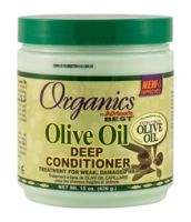 Africa's Best Org Olive Oil Deep Cond 15oz