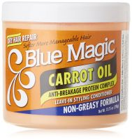 Blue Magic Carrot Oil Leave-In Conditioner 390 g