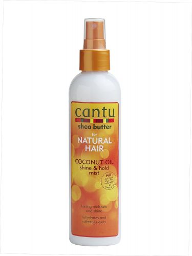 Cantu Natural Coconut Shine and Hold Mist Oil, Shea Butter 237 ml