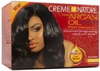 Cream Of Nature Argan Oil Relaxer Regular Kit