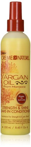 Crème Of Nature Argan Oil Strength and Shine Leave-In Conditioner 250 ml