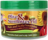 SofN'FreeN'Pretty Olive & Sunflower Oil Hair & Scalp Nourisher - 250g